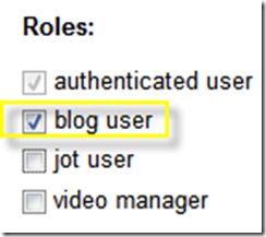 Assign Permissions to Users through Roles